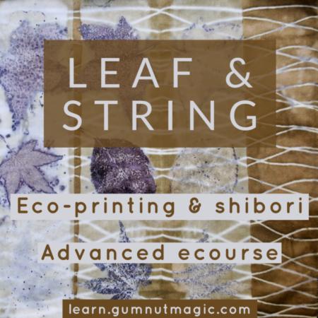 Leaf and String